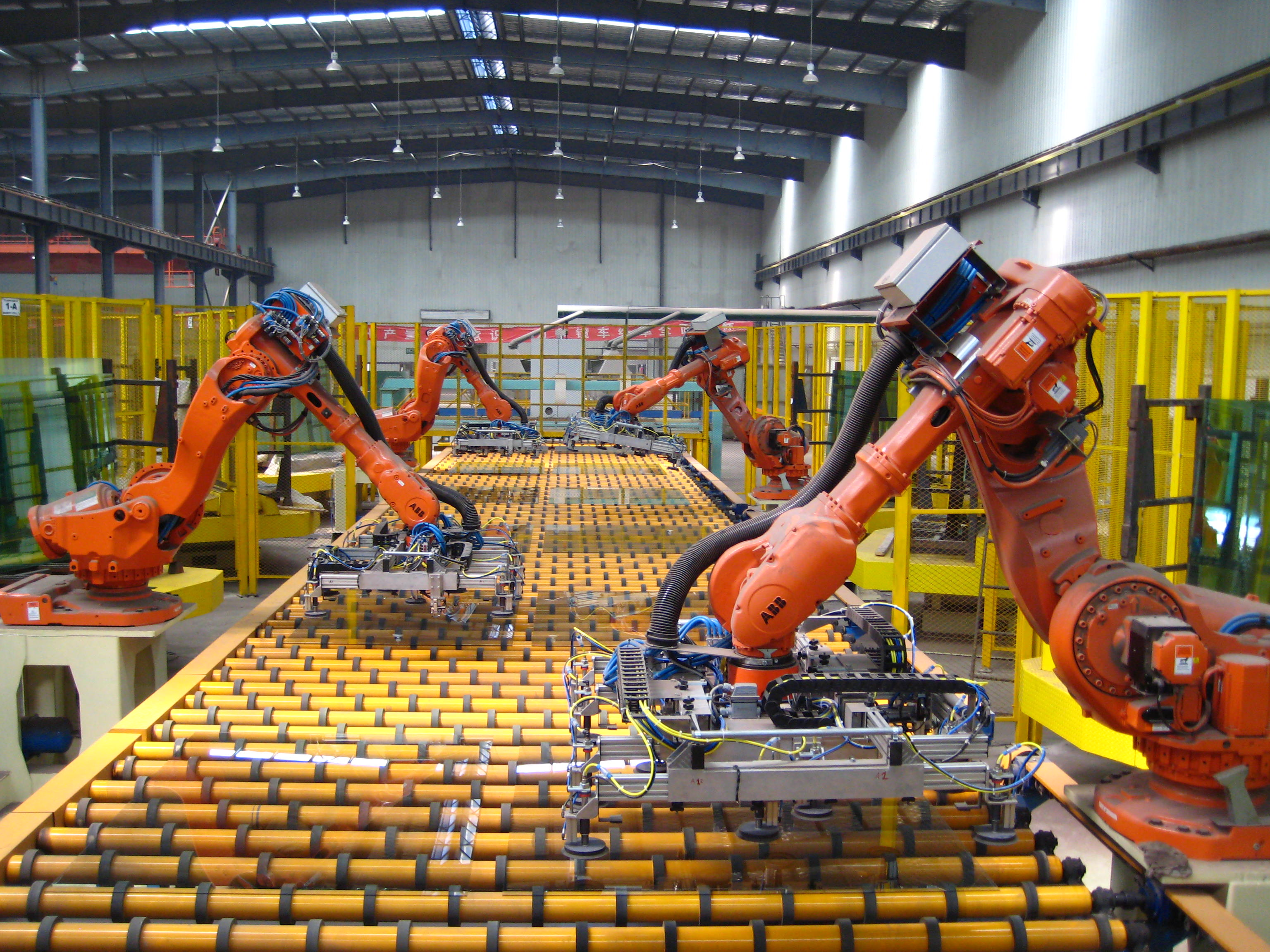 industrial robots and manufacturing automation essay