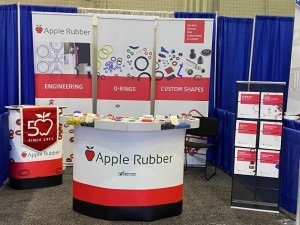 apple rubber trade shows are back